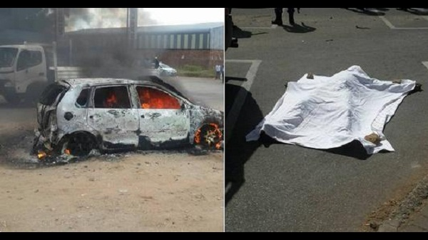Foreigner Beaten To Death Car Set Alight In Polokwane South