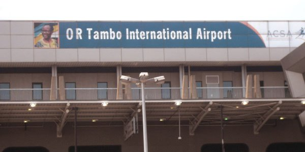 Be vigilant when travelling from O R Tambo International Airport