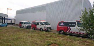 Chemical leak leaves ten injured in Bloemfontein. Photo: ER24