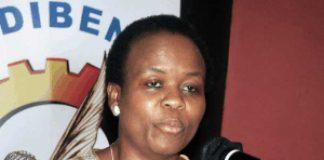 Gauteng Health MEC Dr Gwen Ramokgopa