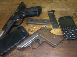 38 arrests for drug related crimes by Motherwell police. Photo: SAPS