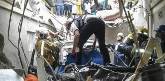 Car crashed through the roof of a house Photo: Arrive Alive
