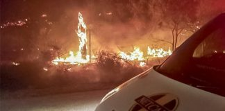 Eastern Cape fires - Photo: Arrive Alive