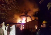 Mother killed in house fire Photo: Arrive Alive