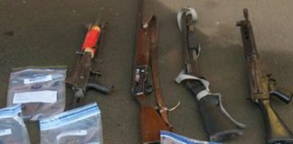 Suspects linked to taxi killings arrested and six firearms recovered Photo: SAPS