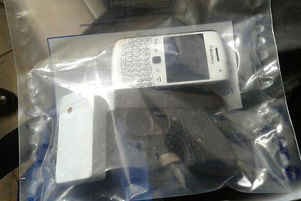 Suspect arrested within hours after committing robbery. Photo: SAPS