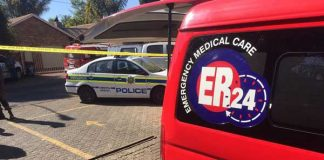 Two suspects wounded during a shootout in Rooihuiskraal. Photo: Arrive Alive