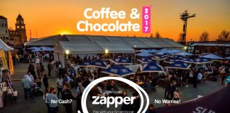 The Coffee & Chocolate show takes place from 13 July - 16 July 2017