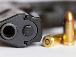 Suspect arrested for illegal possession of firearm and ammunition