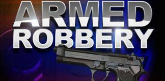 Armed robber in hospital after victim overpowers him