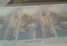 Two arrested after R800,000.00 cash stolen. Photo : SAPS