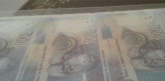 Two arrested after R800,000.00 cash stolen. Photo : SAPS