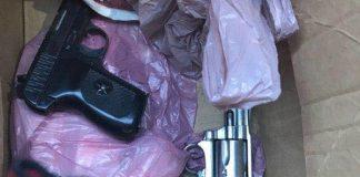 Man arrested for illegal firearms, drugs, Lentegeur Photo : SAPS