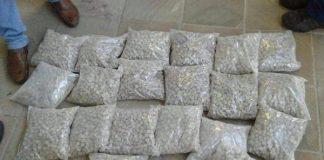 Massive drug haul in Bethlehem. Photo : Arrive Alive