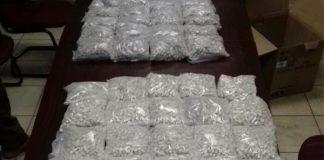 Mandrax tablets worth R4 million seized, three arrested, Hartbeespoortdam Photo : SAPS