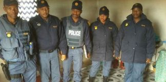Crime operation yields good results, Mthatha. Photo : SAPS