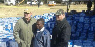 Hijacked truck and cargo retrieved. Photo : SAPS