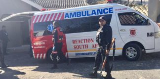 Murder and robbery, one suspect killed, reward offered. Photo : Arrive Alive
