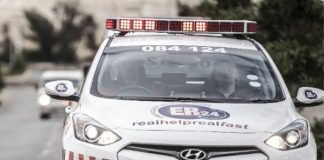 Mother and three children found dead in home, Witbank. Photo : Arrive Alive