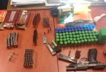 Man arrested with firearms, explosives and ammunition, Bishop Lavis. Photo: SAPS