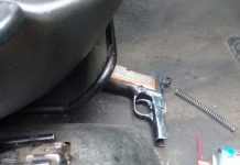 Tip off leads to arrest of suspect with illegal firearm. Photo: SAPS