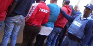 Eleven suspects arrested for fraud, Postmasburg. Photo: SAPS