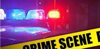 Community steal money from cash-in-transit crime scene