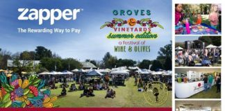 Celebrate with Zapper at the Groves and Vineyards Festival