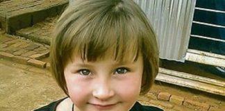 The 9 year old Kayla Meyer who was brutally murdered along with her family on their Randfontein farm.