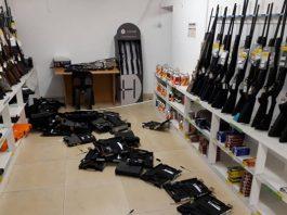 Approximately 50 pistols stolen in business burglary. Photo: SAPS