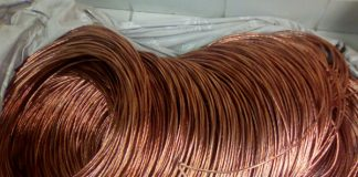 Arrests in the theft of copper cable an mineral resources