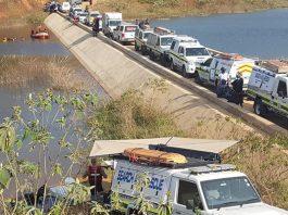 7 die after vehicle veers into the Mvutshane Dam. Photo: SAPS