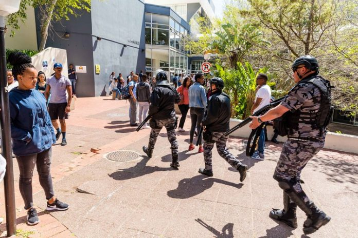 CPUT protesters dispersed following attempted disruptions - South Africa Today