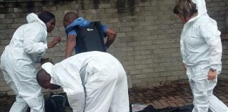 Bomb threat at attorneys firm, Nelspruit. Photo: SAPS