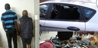 5 arrested for robberies, good recovered, Nyanga. Photo: SAPS
