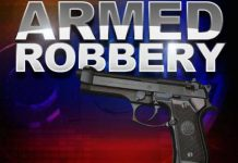 Armed business robbery, 1 suspect arrested, Newton Park