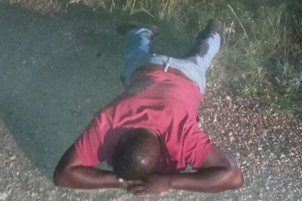 Kidnapping syndicate bust, victim rescued, Thohoyandou. Photo: SAPS