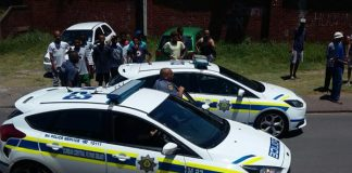 4 armed business robbers arrested, Wentworth, Durban. Photo: SAPS