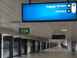 Unattended bag, security evacuation, flight delays, ORTIA. Photo: Arrive Alive