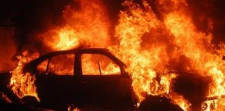 Another body has been found in a burnt out vehicle, Malipsdrift Photo: Arrive Alive