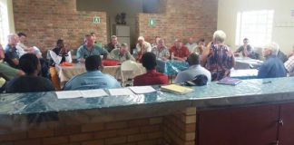 Farmers and police meet, stock theft and issues, Wolmaransstad. Photo: SAPS