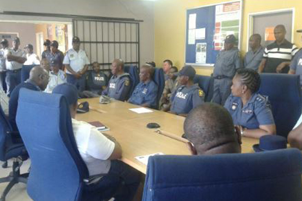 'Operation Fiela 2' launches, Phuthaditjhaba Free State. Photo: SAPS