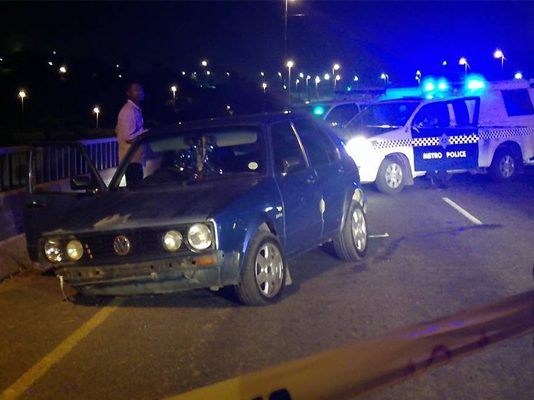 Another metro policeman shot and killed. Photo: Arrive Alive