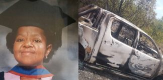 Missing woman murdered, bakkie burned with another victim. Photo: SAPS