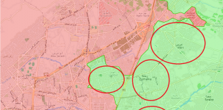 The possible developments of SAA's advance in Eastern Ghouta