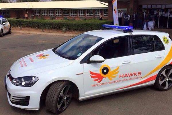 Bogus hawks investigator arrested. Photo: SAPS