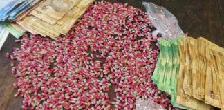 Heroin dealer nabbed, Wentworth. Photo: SAPS