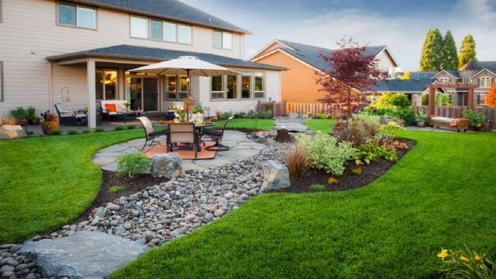 Creating Levels When Landscaping a Small Backyard. Photo: YouTube