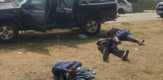 Robbery syndicate bust, three arrested, Louis Trichardt. Photo: SAPS