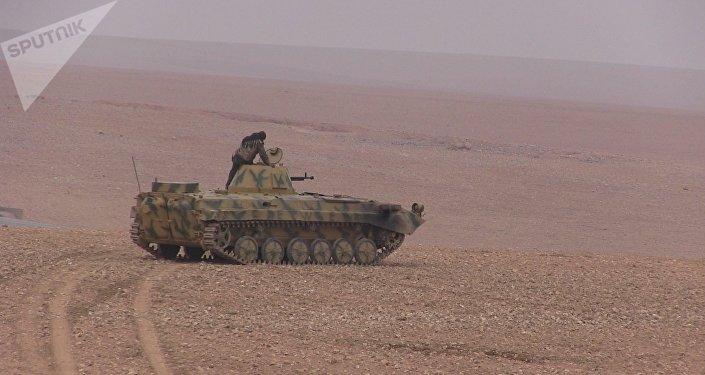 Syrian Democratic Forces advance on Deir ez-Zor